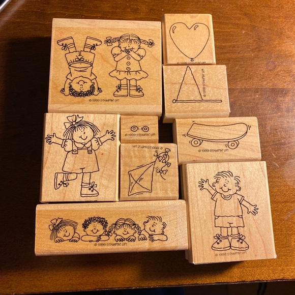 """Stampin' Up Other - Stampin' UP!  """"Kids at Play 9 Stamps"""